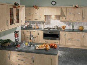 Tủ bếp theo hình dáng 6