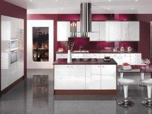 Tủ bếp theo hình dáng 8