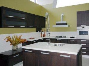 Tủ bếp theo hình dáng 9
