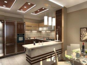Tủ bếp có Quầy BAR 14