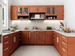 Tủ bếp theo hình dáng 2