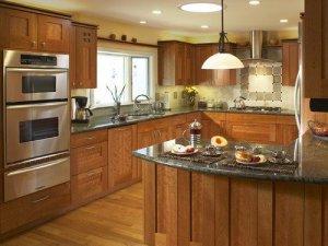 Tủ bếp theo hình dáng 7