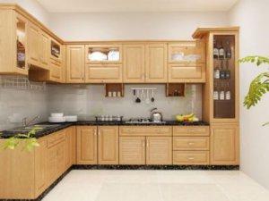 Tủ bếp theo hình dáng 3