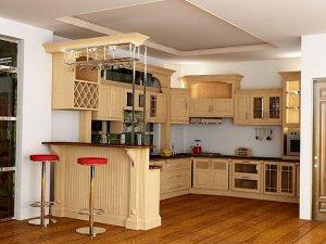 Tủ bếp có Quầy BAR 10