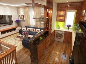 Tủ bếp gỗ Xoan đào 82