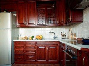 Tủ bếp gỗ Căm xe 15