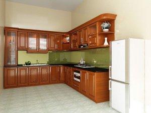 Tủ bếp gỗ Xoan đào 83