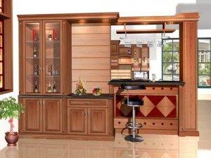 Tủ bếp gỗ Căm xe 17