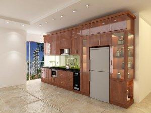 Tủ bếp gỗ Xoan đào 79