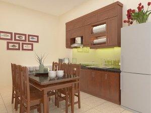 Tủ bếp gỗ Xoan đào 78
