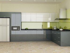 Tủ bếp Inox 4