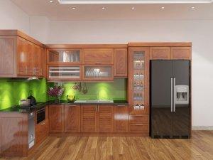 Tủ bếp gỗ Xoan đào 72