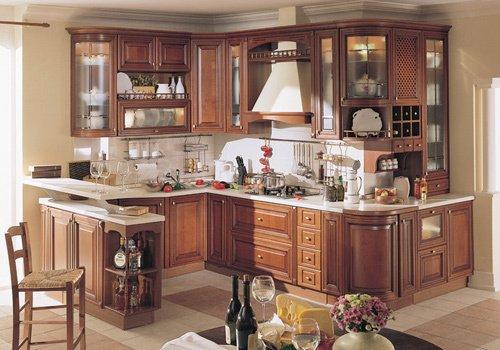 Tủ bếp gỗ Căm xe 23
