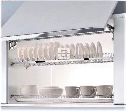 Kệ chén 2 tầng âm tủ inox (401011, 401012, 401013, 401014) – Higold