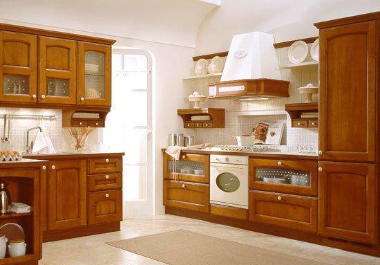 Tủ bếp gỗ Căm xe 16